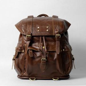 Leather Satchel Bag 01
