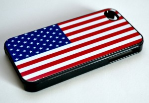 Iphone Case USA flag