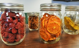 food in some jars